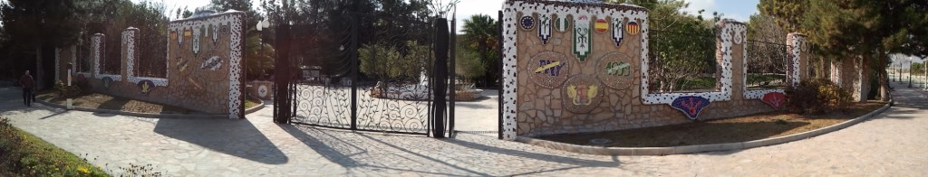 portada del parque del oeste