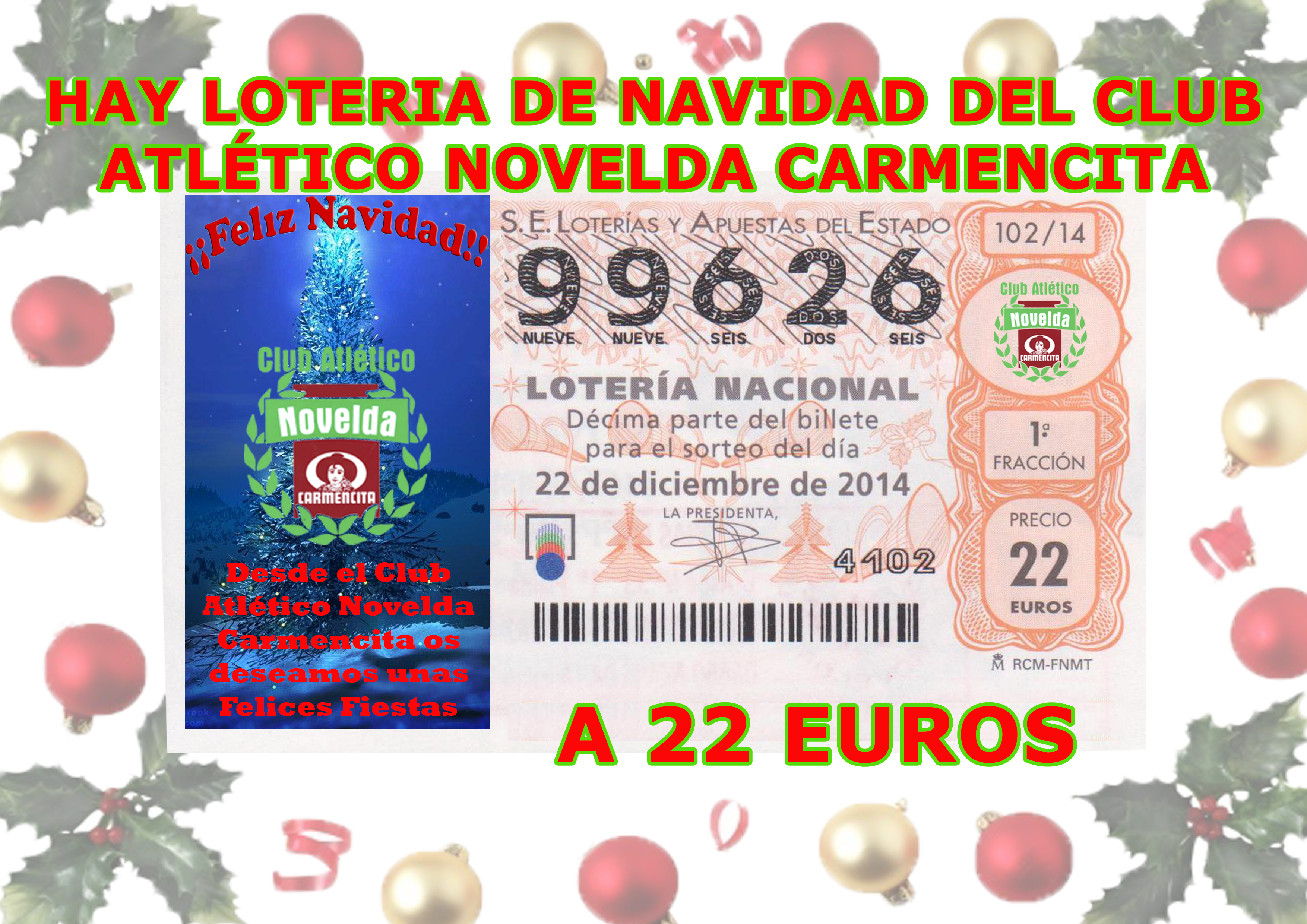 loteria nacional navidad 2006 resultados: